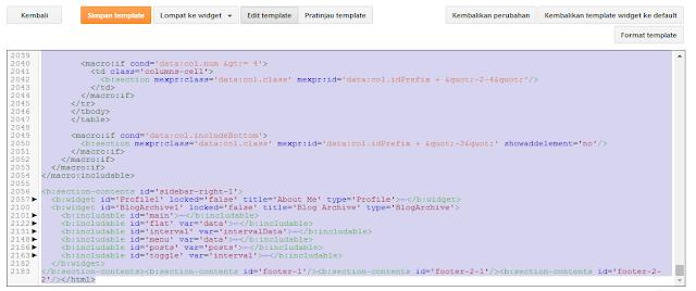 Cara Mudah Backup HTML Blogger