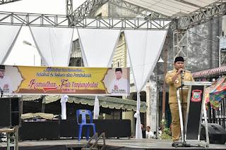 Pembukaan Ramadan Fair oleh Bapak Walikota Tanjungbalai M.Syahrial SH,MH