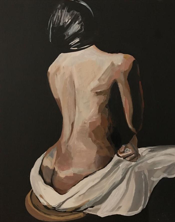 Американский художник. Clayton Hosmann