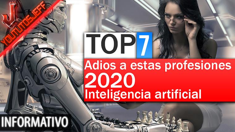 7 Profesiones que caerán por la inteligencia artificial en 2020