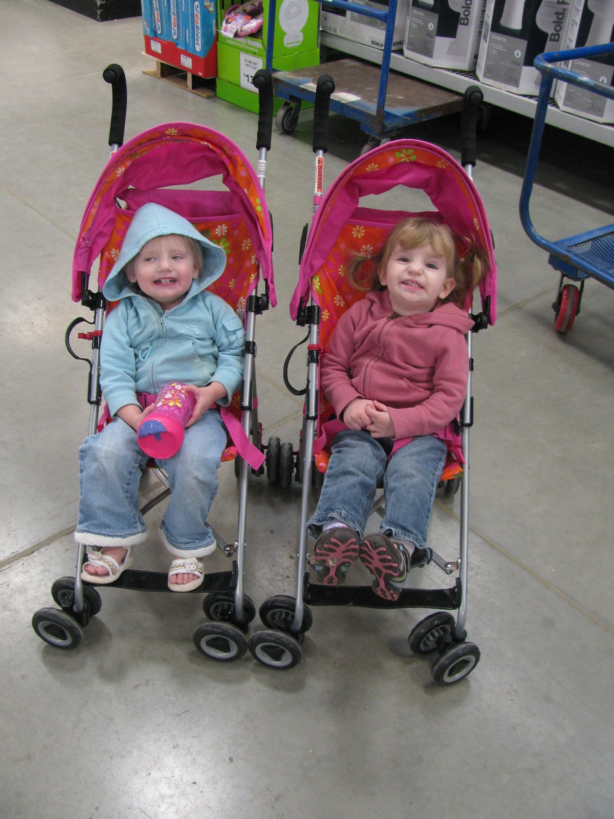 Why We Bought Two Single Strollers For Our Toddler Twins