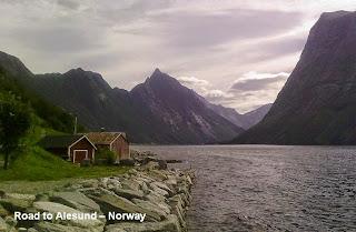 alesund norway fjord