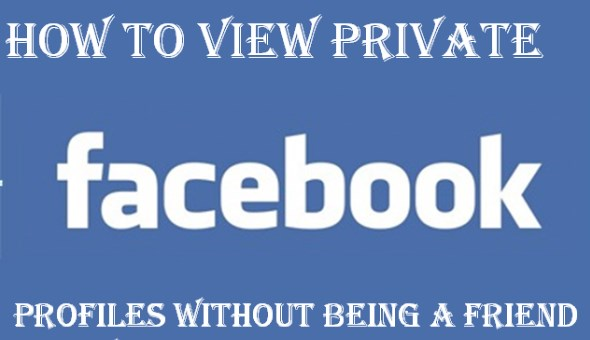 how to view private facebook profiles without being a friend