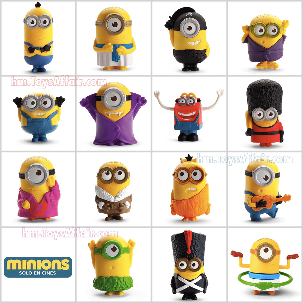 Minions – Happy Meal Toys