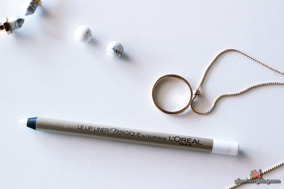 L'Oreal - Lip Liner Magique by Color Riche - Transparent lipliner עפרון שפתיים שקוף לוריאל גלוסברי בלוג איפור וטיפוח