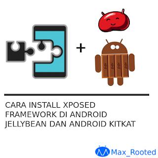 Cara Install Xposed Framework di Android Jellybean dan Kitkat