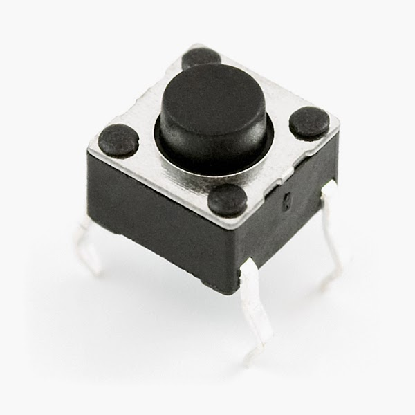 Interfacing Led And Push Button Switch To 8051