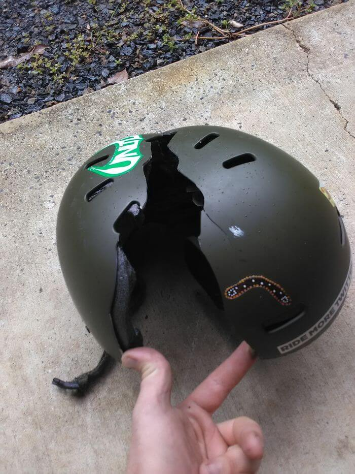 15 Reasons Why Wearing A Helmet Is Always A Good Idea - Daily Reminder To Wear A Helmet On The Snow
