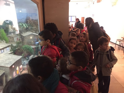 Visita als Betlems, 1r Primària - 2018