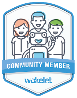 Happy to be a part of the Wakelety Community