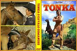 Tonka en la última batalla del general Custer (1958) - Carátula 2