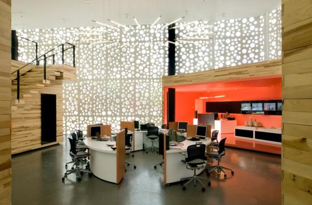 graphic design studio office