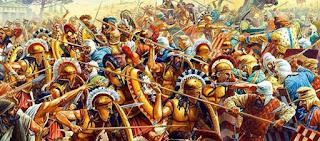 Όταν οι περήφανοι πρόγονοί μας νικούσαν τους Πέρσες και κράταγαν ελεύθερη την πατρίδα μας