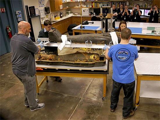 Abertura Sarcófago Múmia