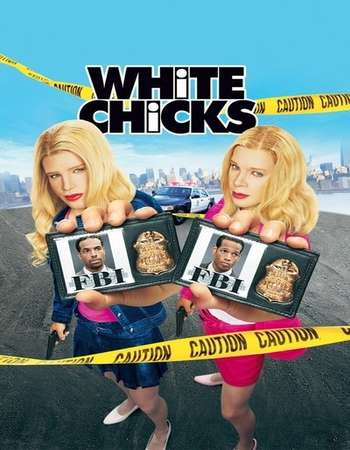 Poster Of White Chicks 2004 Dual Audio 300MB HDRip 480p Free Download Watch Online Worldfree4u