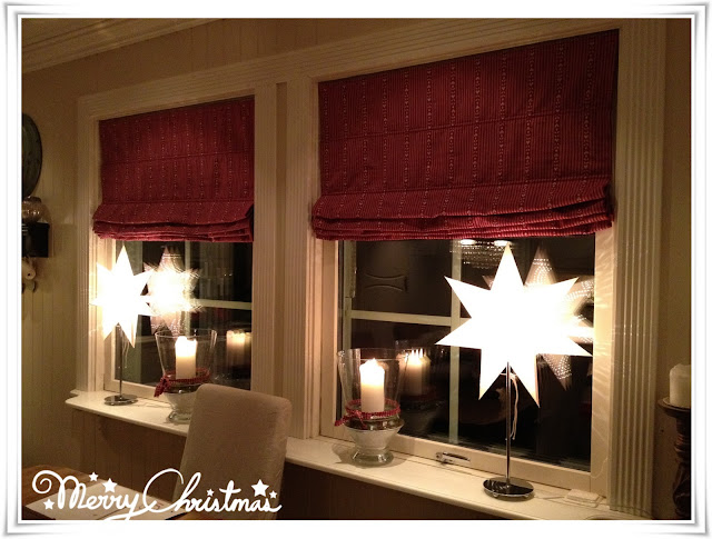 Hyggelig Anitas Interiørverden: Julegardiner på kjøkkenet på plass VZ-08