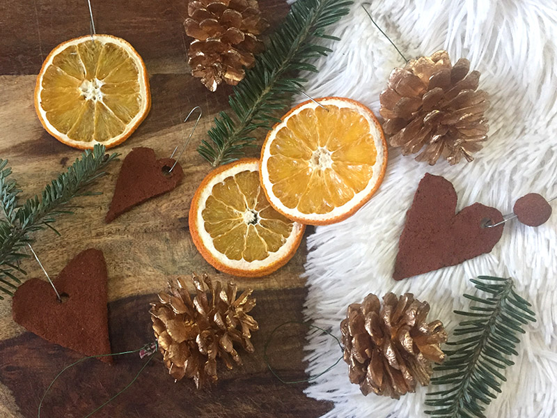 beautifully frugal diy christmas decorations