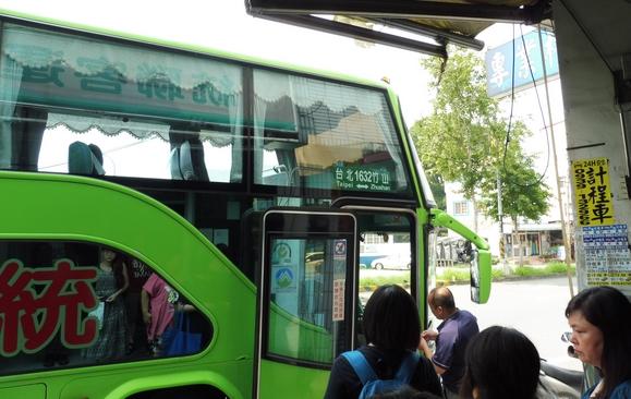 小綠人的旅遊日誌: 2016.06.27 統聯客運 【竹山-1632-臺北】