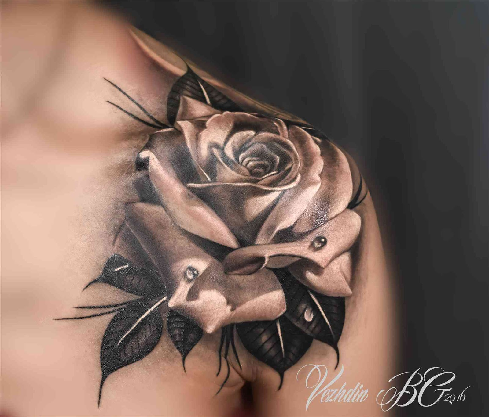 Mytattooland.com: Black Rose tattoos