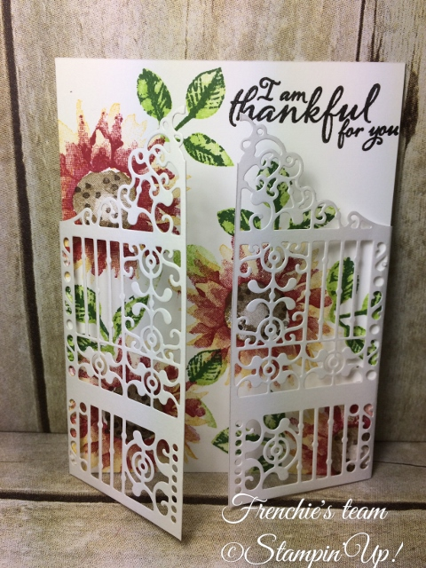 Painted Harvest, Detailed Gate Thinlits, Stampin'Up!