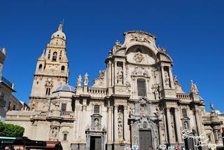 catedral de Murcia estilo barroco