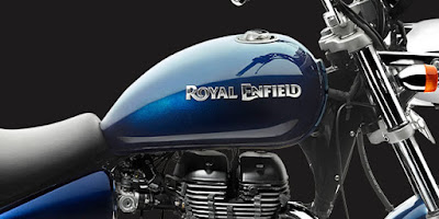 Royal Enfield Thunderbird 500 fuel tank