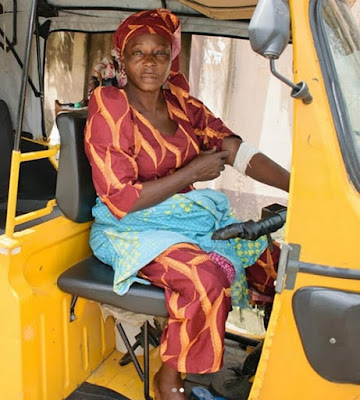 Widow Who Rides Keke For A Living Shares Her Emotional Story