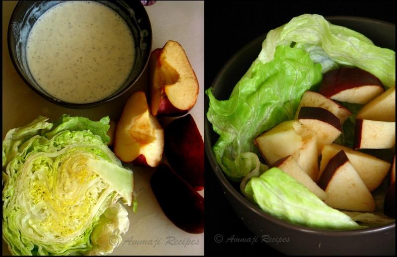 Healthy Apple Sour Cream Coffee Cake