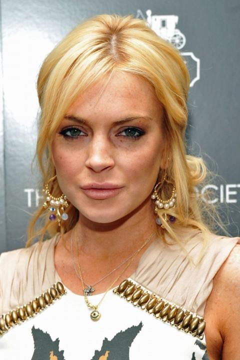 Celebrity Lindsay Lohan Nude Interview Gif