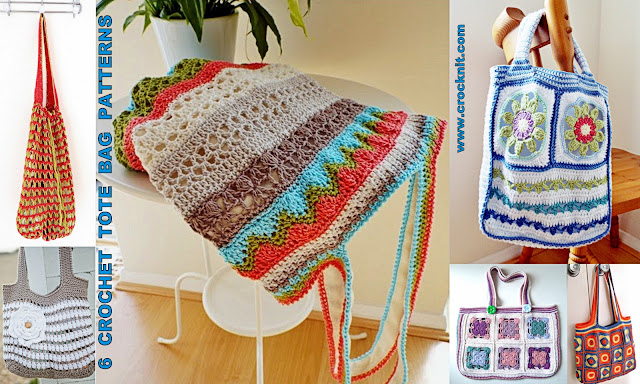 afghans, bags, crochet bags, granny squares, tote bags, market bags,