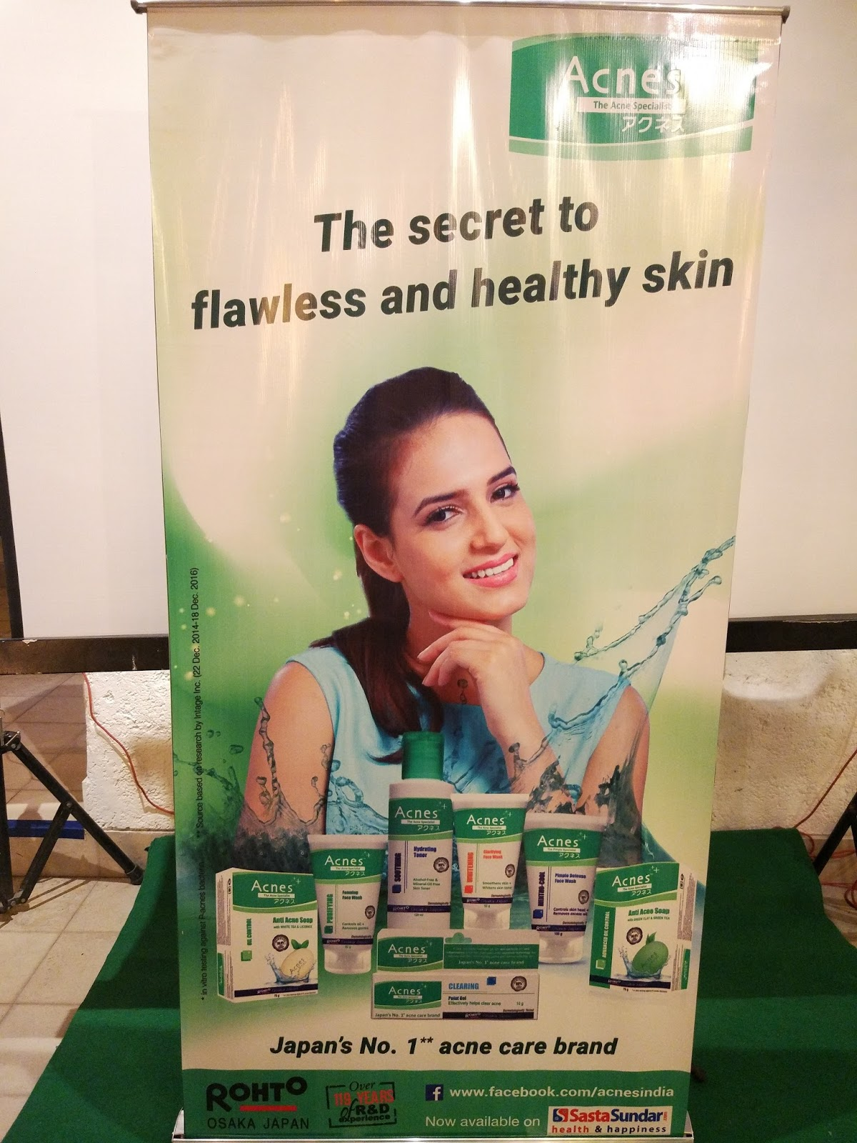 Rohto ACNES Mentho-Cool Pimple Defense Face Wash and Oil-Control Soap Launch