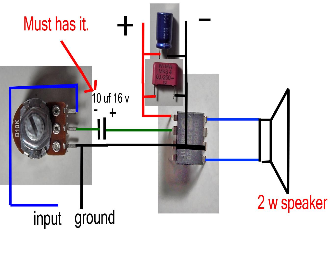 Hack Desktop Lamp To Usb Loudspeaker
