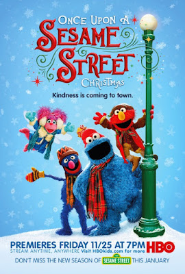 Once Upon A Sesame Street Christmas 2017 DVD R1 NTSC Sub