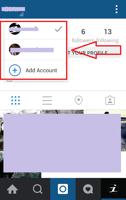 menggunakan dua akun instagram di hp iphone