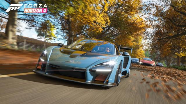 Vista previa de las funciones en Forza Horizon 4