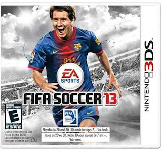 FIFA 13, 3DS, Español, Mega, Mediafire