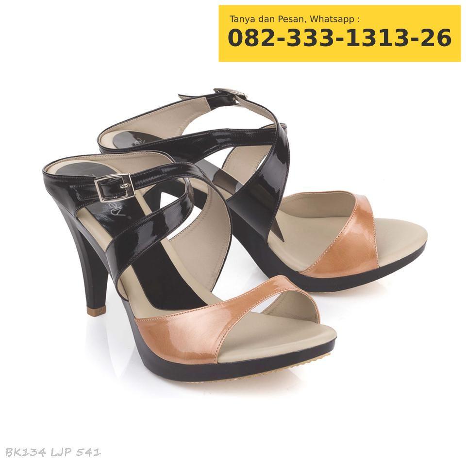 Sepatu Boots Heels Wanita Hitam Harga Terkini Dan Terlengkap High Fs62 Coklat Jual Murah Hak Tinggi Warna