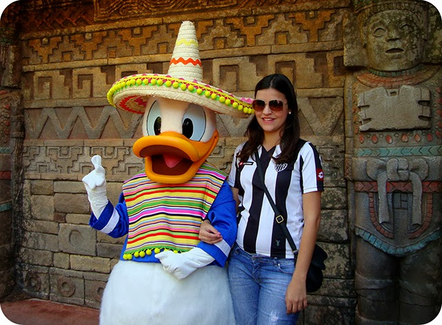Epcot :  World Showcase : Pato Donald
