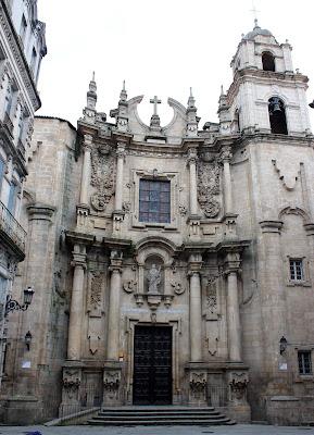 Iglesia de Sta. Eufemia. Orense
