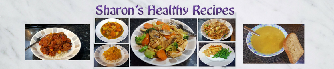 Sharon's Healthy Recipes
