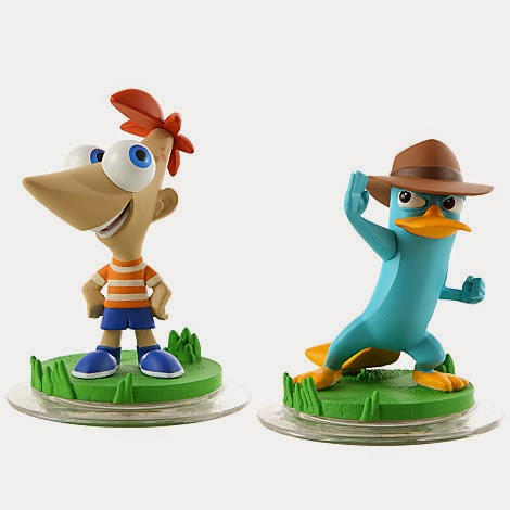 Phineas And Ferb Disney Infinity Toy Box Wave 3 Power