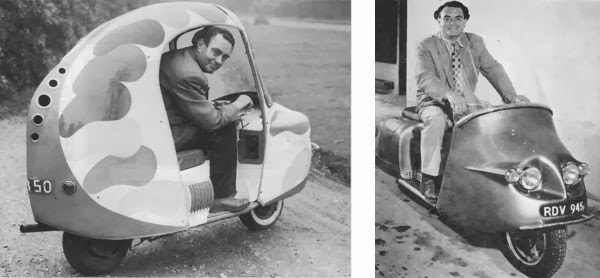 Trussty Jasmine: 4 All British Classical Scooter Prototypes