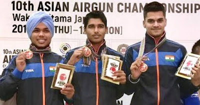 Spotlight Asian Shooting Championships Gold Medal For