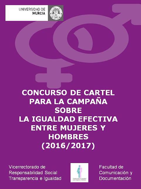 Inauguración de la Exposición del Concurso de Carteles para la campaña sobre la igualdad efectiva entre mujeres y hombres.
