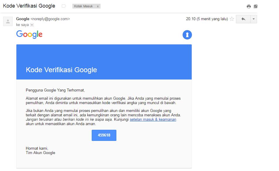 Cara Membuka Email Gmail Yang Lupa Password 100 Bisa Terbuka