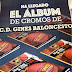 Ya está aquí el álbum de cromos CD Gines Baloncesto