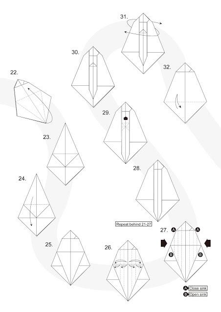 Origami de un Alien