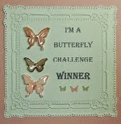 Butterfly Challenge - December 2014 and February 2015