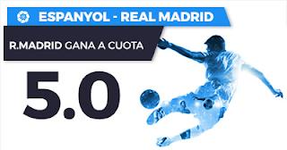 Paston Megacuota Liga Santander Espanyol vs Real Madrid 27 febrero