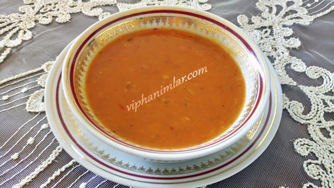 Pratik Kırmızı Mercimek Çorbası